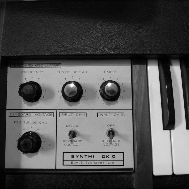 EVE BBC EMS Synthi DK 0 Cricklewood keyboard
